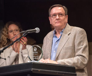 Tom Killen Award recipient Michael O'Flaherty